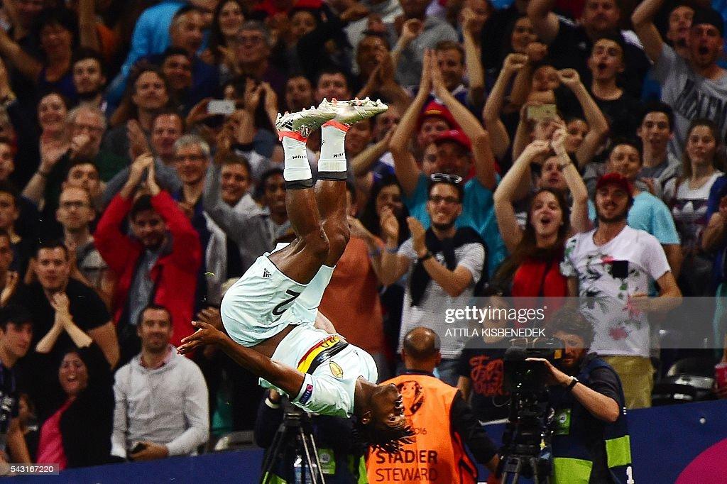 FBL-EURO-2016-MATCH42-HUN-BEL : News Photo