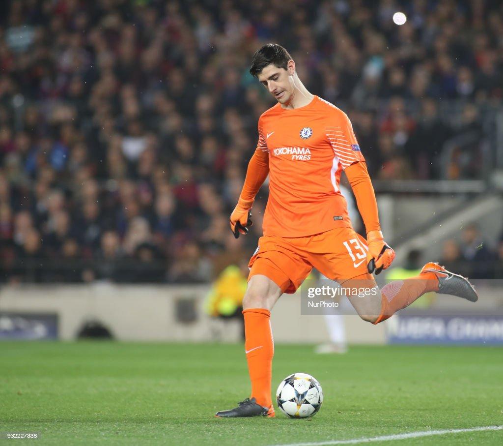 Barcelona v Chelsea FC - UEFA Champions League Round of 16: Second Leg : News Photo