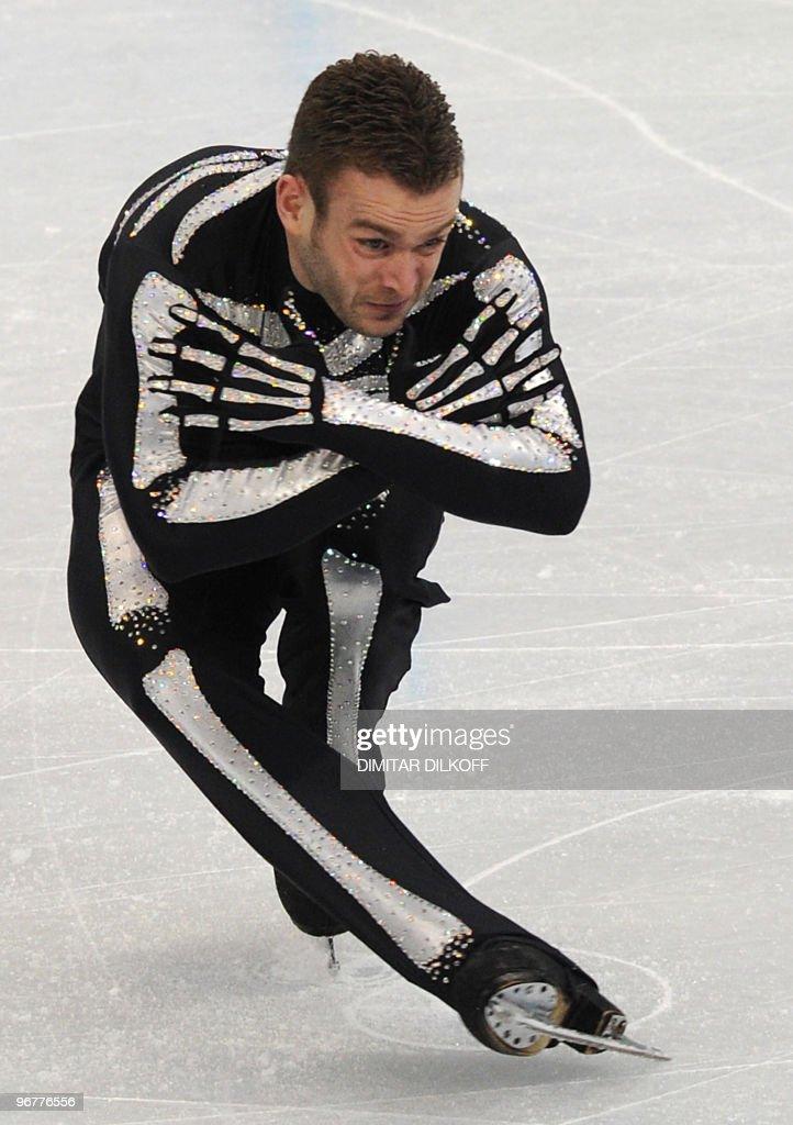 Belgium's Kevin van der Perren competes : News Photo