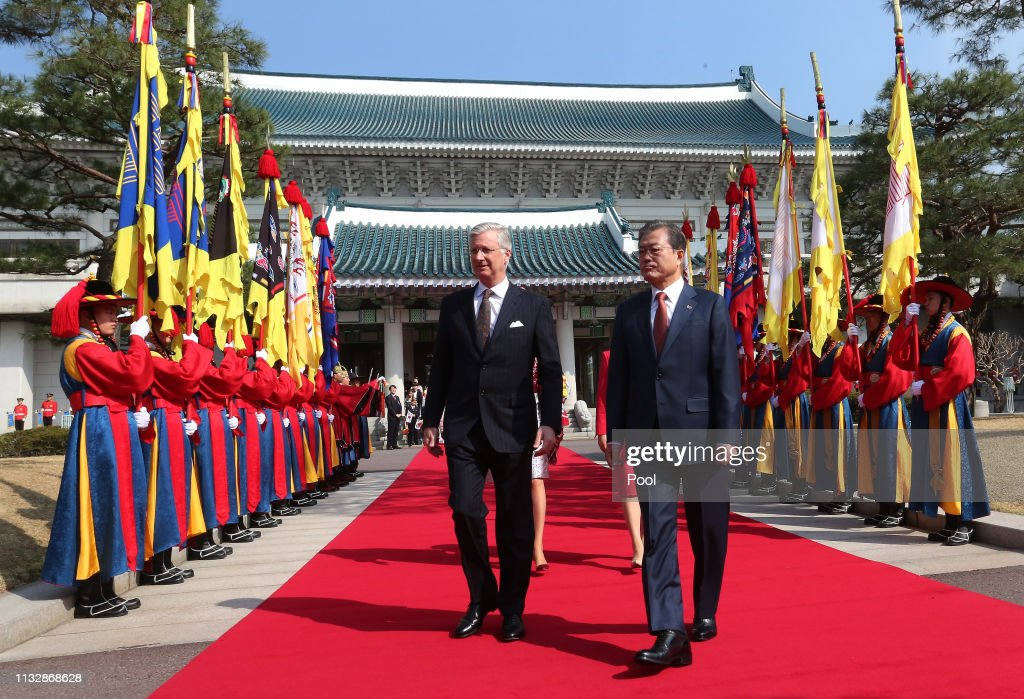 KOR: King Philippe of Belgium Visits South Korea - Day 2