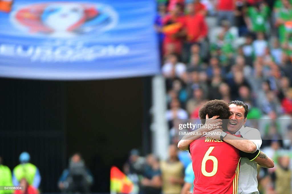 FBL-EURO-2016-MATCH22-BEL-IRL : News Photo