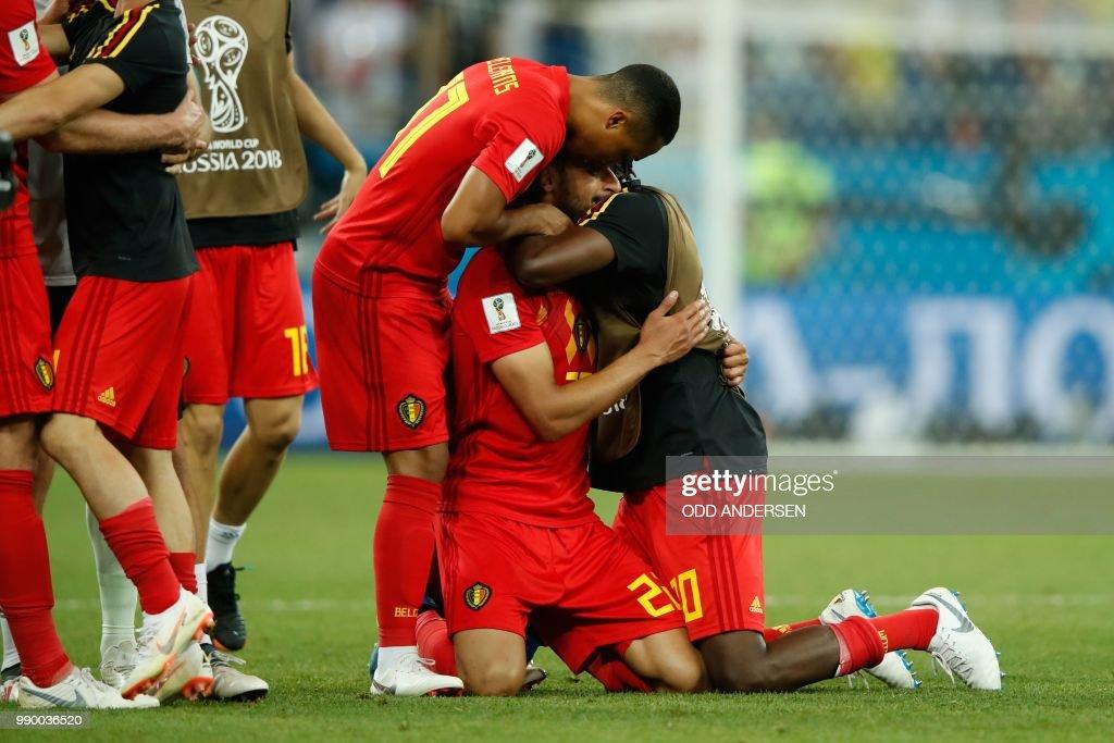 Belgium's Midfielder Youri Tielemans Belgium's Midfielder