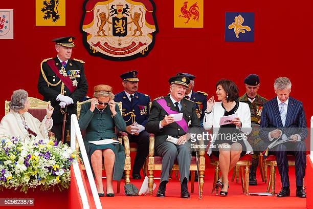 Belgiums National Day in Brussels July 21, 2012. Belgium celebrates its national day and its 182nd anniversary of independence on this Saturday with...
