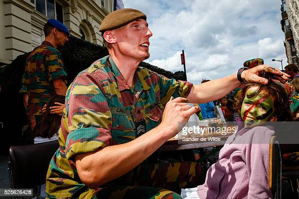 Belgiums National Day in Brussels July 21, 2012. Belgium celebrates its national day and its 182nd anniversary of independence on this Saturday.The...