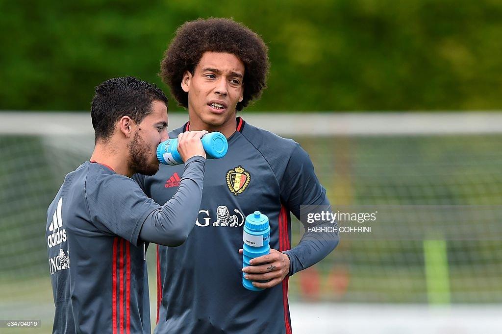 FBL-EURO-2016-BEL-TRAINING : News Photo