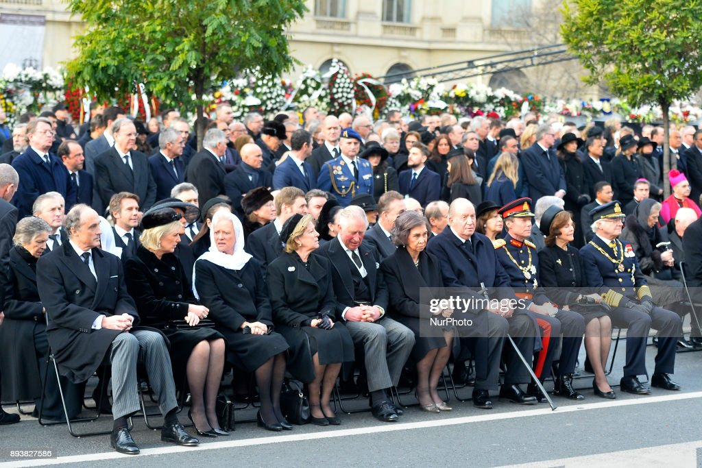 Romania King's Funeral : News Photo