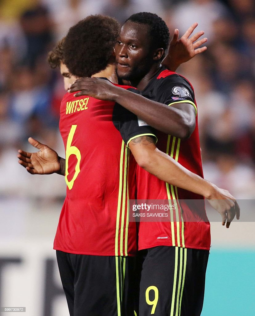 Beautiful Europe World Cup 2018 - belgiums-romelu-lukaku-celebrates-with-his-teammate-axel-witsel-after-picture-id599730972  Image_414598 .com/photos/belgiums-romelu-lukaku-celebrates-with-his-teammate-axel-witsel-after-picture-id599730972