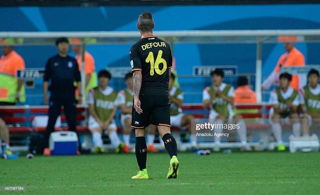 South Korea v Belgium - 2014 FIFA World Cup Brazil : News Photo