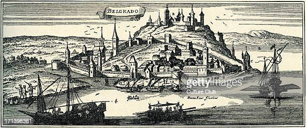 Belgrade at the time of the Ottoman Empire engraving by Joannes Peeters