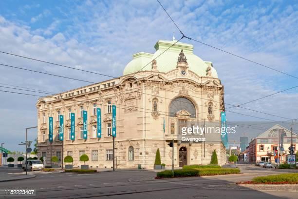 belgrado coöperatieve gebouw - gwengoat stockfoto's en -beelden