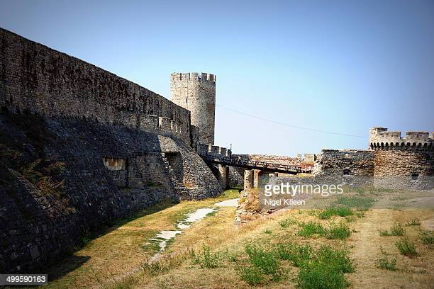 Belgrade Fortress, consists of the old citadel and Kalemegdan Park on the confluence of the River Sava and Danube.