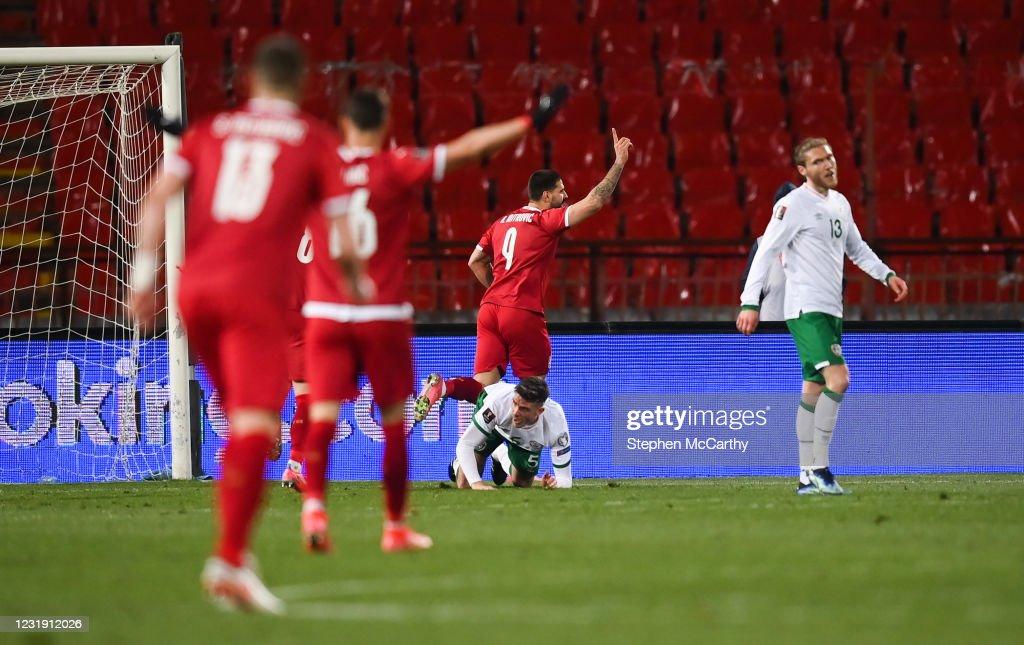 Serbia v Republic of Ireland - FIFA World Cup 2022 Qualifier : News Photo