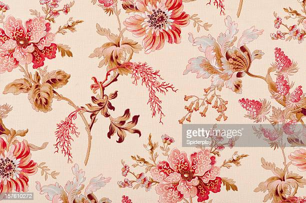 Belgrave Floral Close Up Antique Fabric