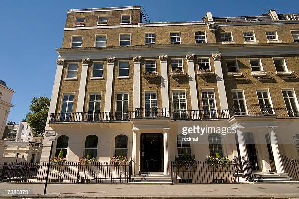 belgravia house - georgian style stock pictures, royalty-free photos & images