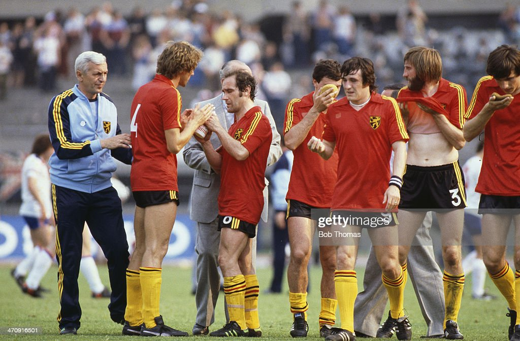 England v Belguim - Euro 1980 Group 2 Match : News Photo