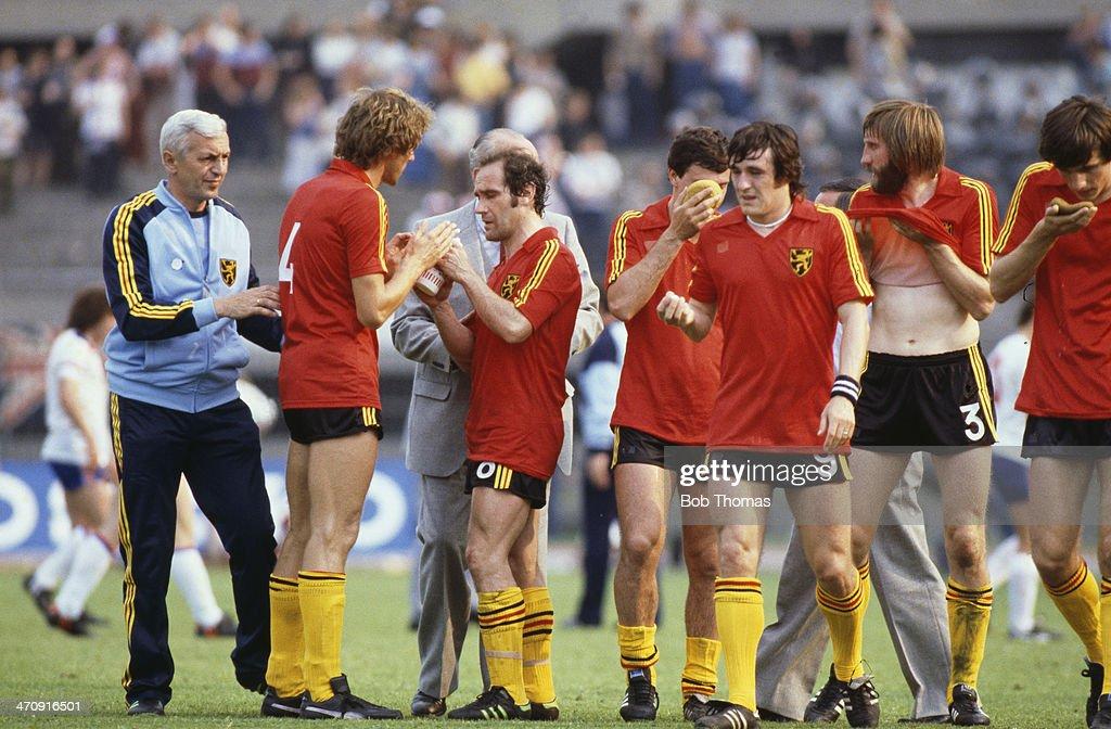 England v Belguim - Euro 1980 Group 2 Match : Nieuwsfoto's
