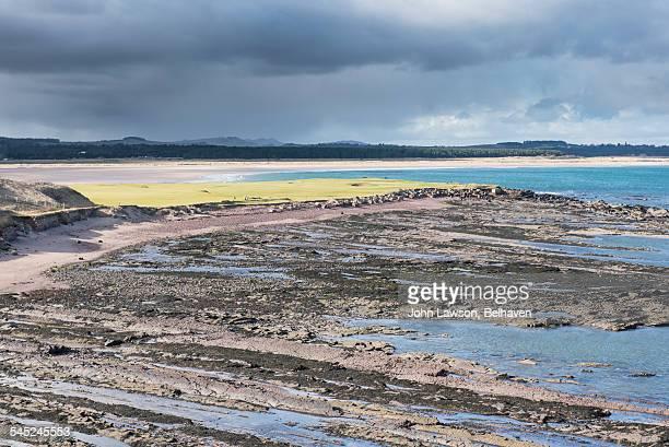 Belhaven Bay from Dunbar cliffs, East Lothian
