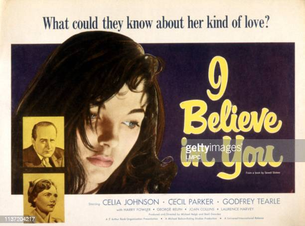 I Believe In You poster Cecil Parker Celia Johnson Joan Collins 1952