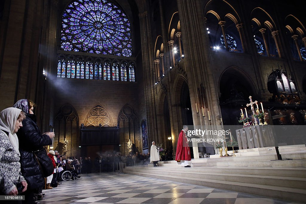 FRANCE-RELIGION-NOTRE-DAME-CATHEDRAL-FILES : News Photo