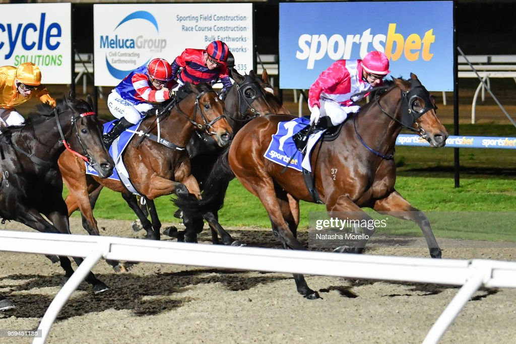 Believing ridden by Jye McNeil wins the Sportsbet Racing Form BM64 Handicap at Racing.com Park Synthetic Racecourse on May 17, 2018 in Pakenham, Australia.