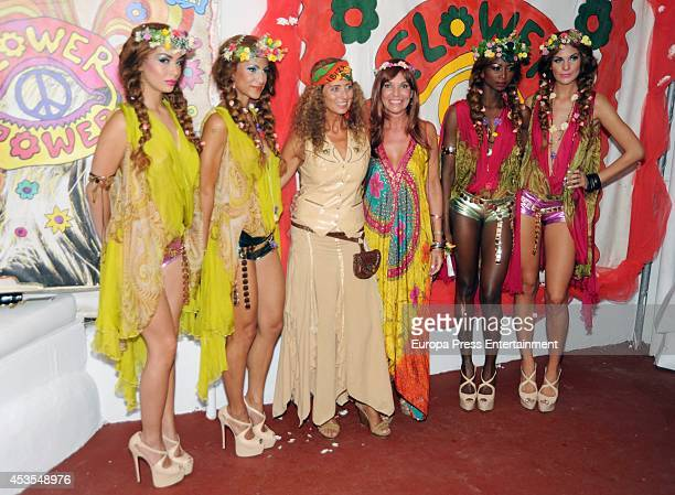 Belinda Alonso attends Flower Power Ibiza Party 2014 at Pacha Club on August 12 2014 in Ibiza Spain