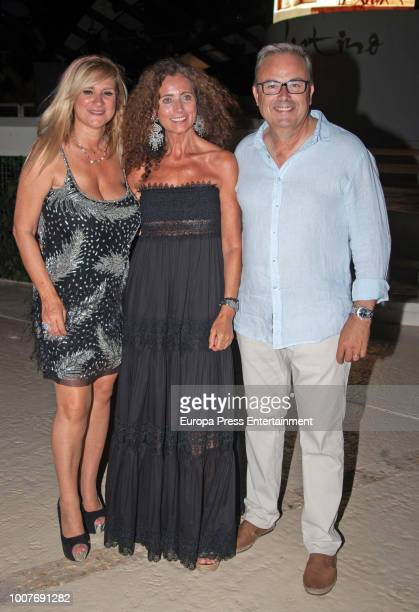 Belinda Alonso attends the homage to Angel Nieto organised by Adlib Moda Ibiza at Destino hotel on July 27 2018 in Ibiza Spain