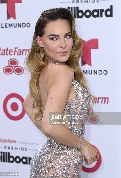 Belinda arrives at 2015 Billboard Latin Music Awards presented by State Farm on Telemundo at Bank United Center on April 30 2015 in Miami Florida