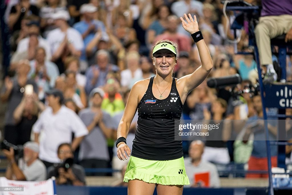 TENNIS-CA-ROGERS CUP : News Photo