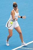 melbourne australia belinda bencic switzerland plays