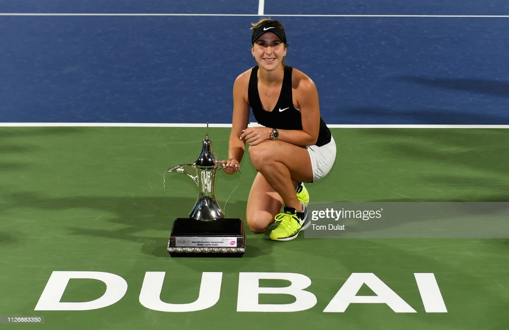 Dubai Duty Free Tennis Championships - Day Seven : News Photo