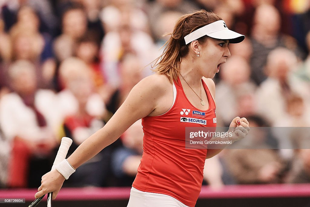 Germany v Switzerland - 2016 FedCup Day 1