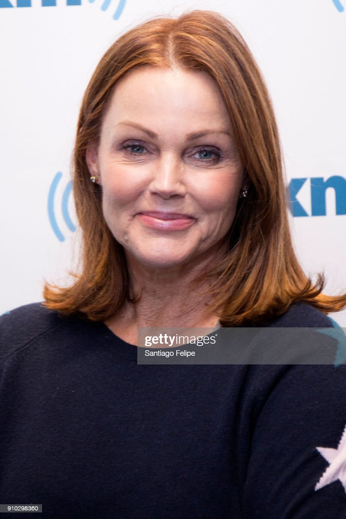 Belinda Carlise visits SiriusXM Studios on January 25, 2018 in New York City.
