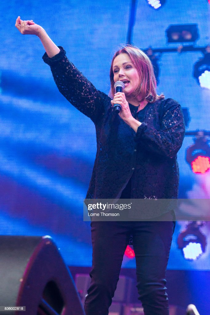 Belinda Carlisle performs at Rewind Festival on August 20, 2017 in Henley-on-Thames, England.