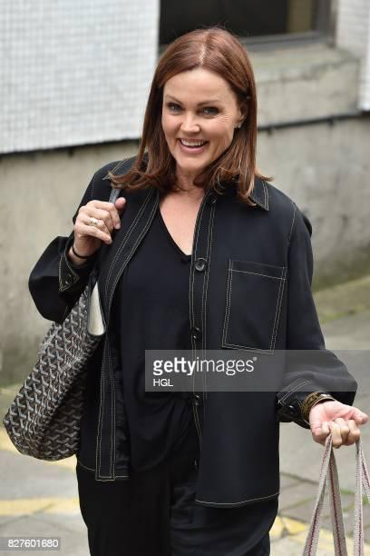 Belinda Carlisle seen at the ITV Studios on August 8 2017 in London England