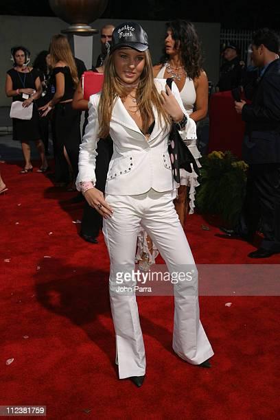 Belinda during 2004 Billboard Latin Music Awards Polaroid's Polarazzi Red Carpet Arrivals at The Miami Arena in Miami FL United States