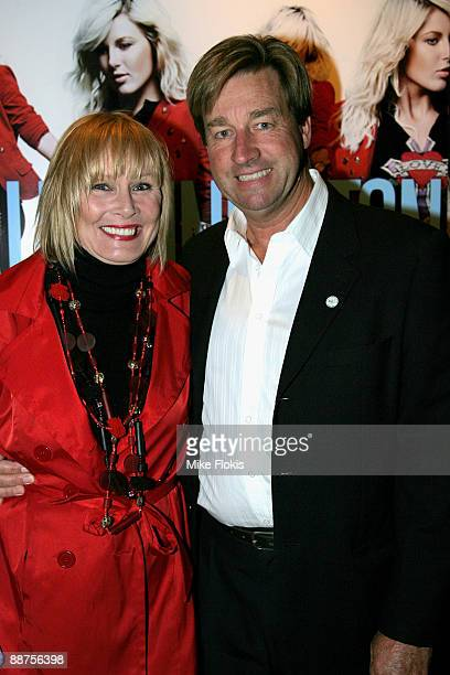 Belinda Green and Steve Mason arrive for the official launch of Sally Singleton's new single 'Tomorrow' in the Piano Room on June 30, 2009 in Sydney,...