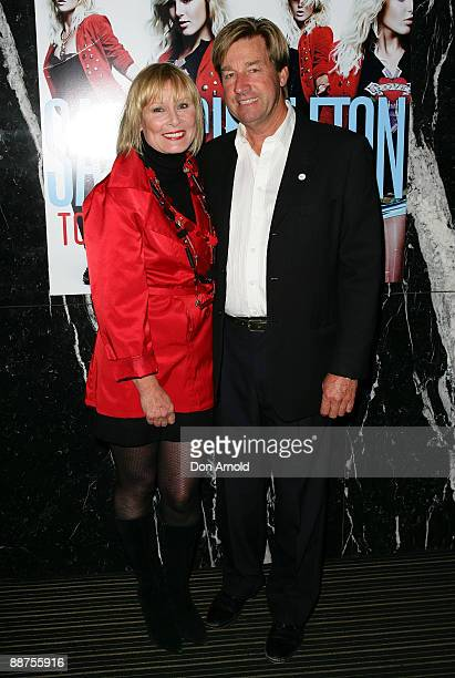 Belinda Green and Steve Mason arrives for the official launch of Sally Singleton's new single 'Tomorrow' in the Piano Room on June 30, 2009 in...