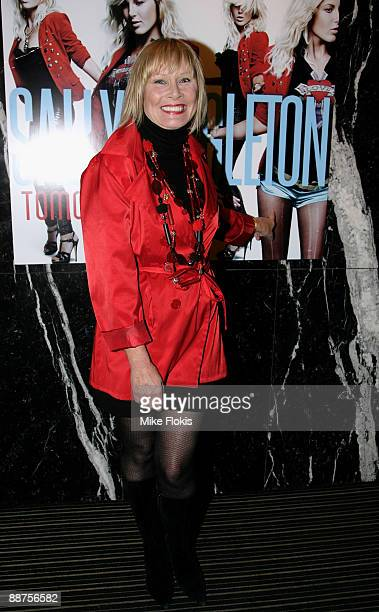 Belinda Green arrives for the official launch of Sally Singleton's new single 'Tomorrow' in the Piano Room on June 30, 2009 in Sydney, Australia.