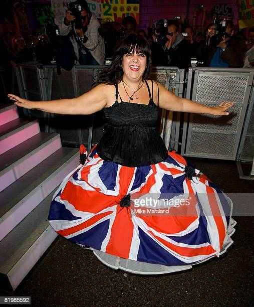 Belinda is evicted from the Big Brother House at Elstree Studios on July 18 2008 in London England