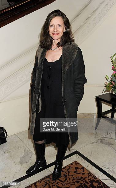 Belinda Lang attends an after party following the press night performance of 'Uncle Vanya' at The Charing Cross Hotel on November 2 2012 in London...