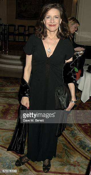 Belinda Lang attends the after show party following the press night for new West End stage show 'Hay Fever' which is playing at the Theatre Royal at...