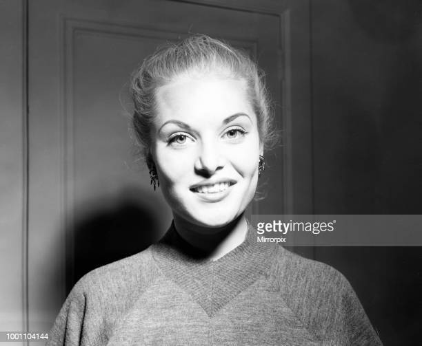 Belinda Lee British actress from Devon aged 18 years old studying at the Royal Academy of Dramatic Art 21st September 1953