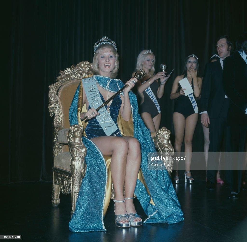 Miss World 1972 : News Photo