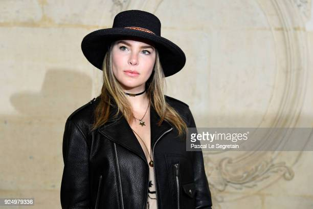 Belinda Peregrin attends the Christian Dior show as part of the Paris Fashion Week Womenswear Fall/Winter 2018/2019 on February 27 2018 in Paris...