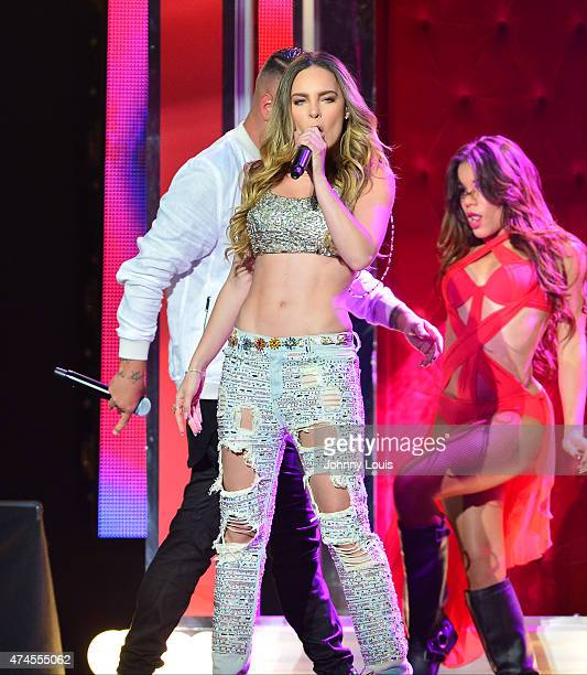 Belinda performs at the 2015 Billboard Latin Music Awards presented by State Farm on Telemundo at Bank United Center on April 30 2015 in Miami Florida