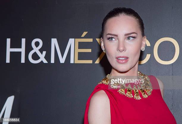 Belinda poses at the Grand Opening of the HM Store on October 30 2012 in Mexico City Mexico