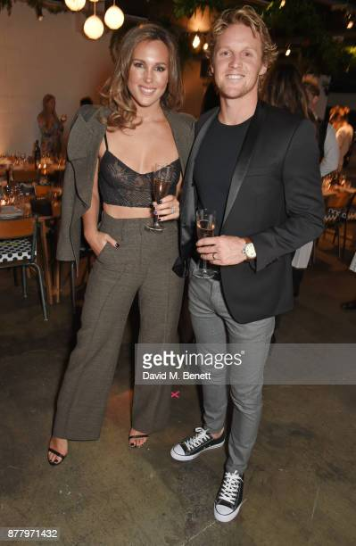 Belinda Sloane and Rory Sloane attend an intimate dinner hosted by Henry Holland and Andrew Nugent to celebrate the House of Holland Resort 18...