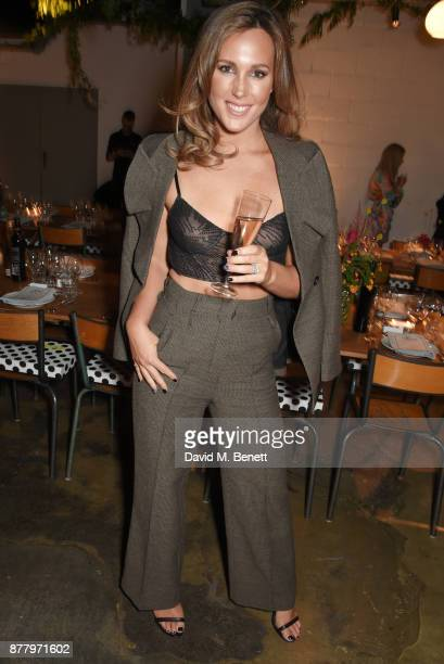 Belinda Sloane attends an intimate dinner hosted by Henry Holland and Andrew Nugent to celebrate the House of Holland Resort 18 collection and Bird...