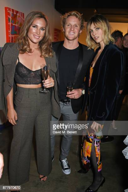 Belinda Sloane Rory Sloane and Edie Campbell attend an intimate dinner hosted by Henry Holland and Andrew Nugent to celebrate the House of Holland...