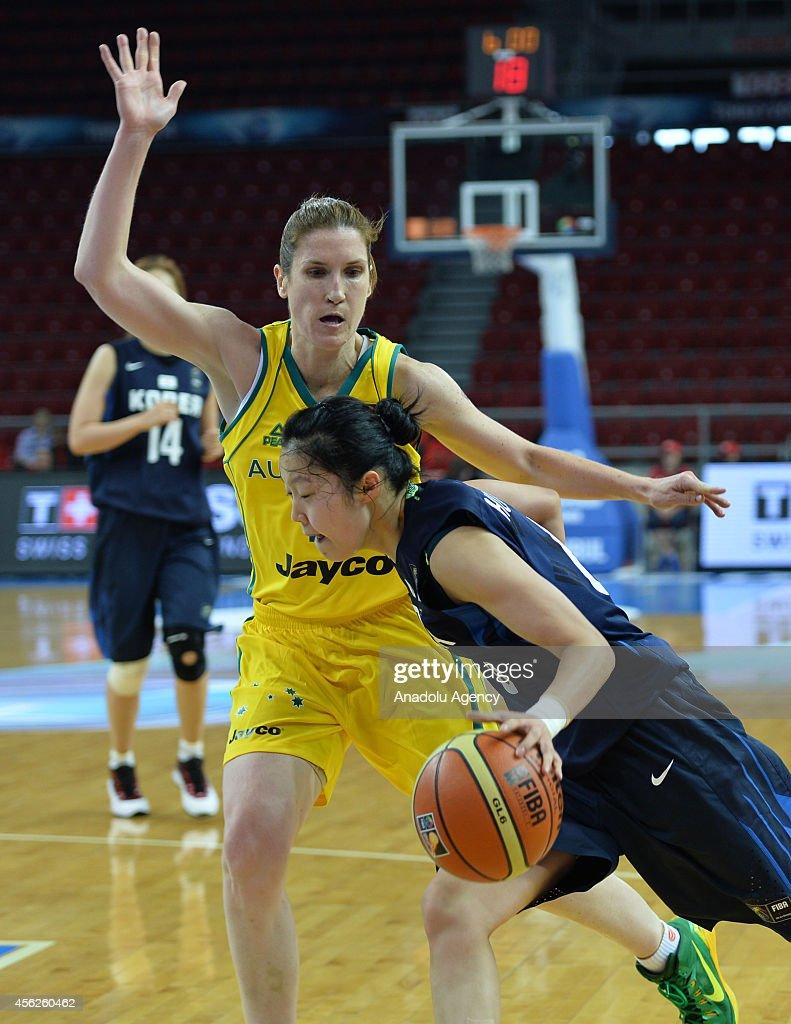 Australia v Korea - 2014 FIBA World Championship for Women : News Photo